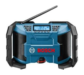 Das Akkuradio GML 10,8-Volt von Bosch